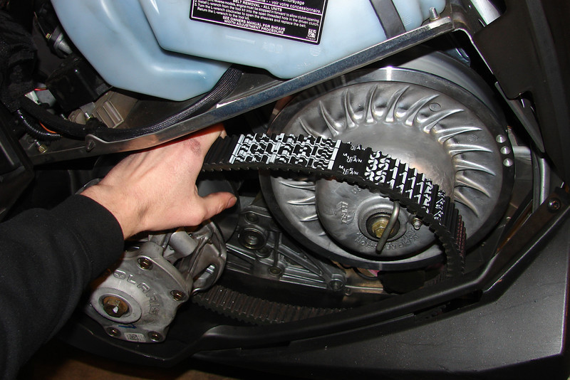 Primary Clutch: Changing weights, General maintenance - Back Country